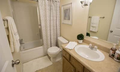 Bathroom, Woodland Springs Manor, 2