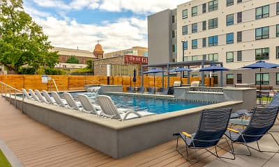 Pool, The 505 Student Living, 1