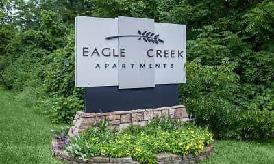 Community Signage, Eagle Creek Apartments, 1