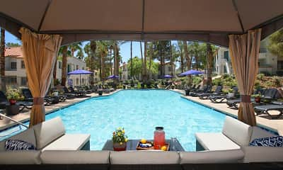 Pool, Ladera Apartments at Green Valley, 0