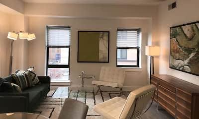 Living Room, Park Square West, 0