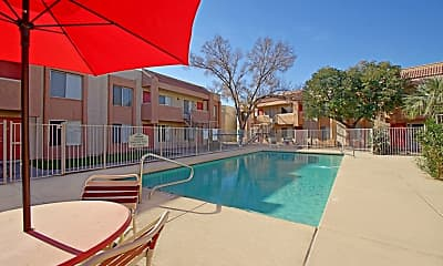 Pool, Mountain View Apartments, 0
