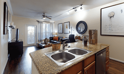 Kitchen, Tanglewood At Voss, 2