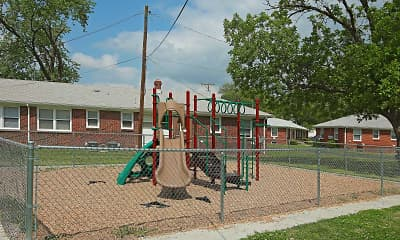 Playground, Pinecrest Village, 2