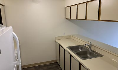 Kitchen, Park Place Apartments, 1