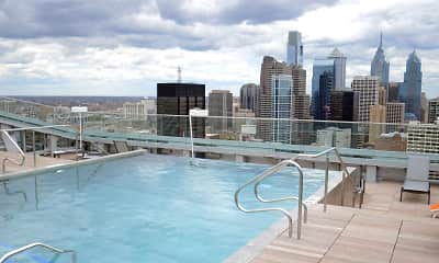 Pool, evo at Cira Centre South, 2