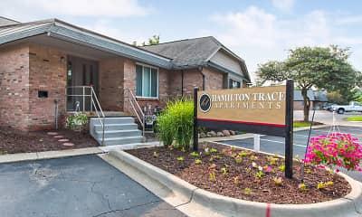 Community Signage, Hamilton Trace Apartments, 2