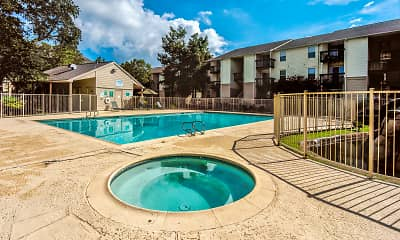 Pool, Willowbrook Apartments, 2