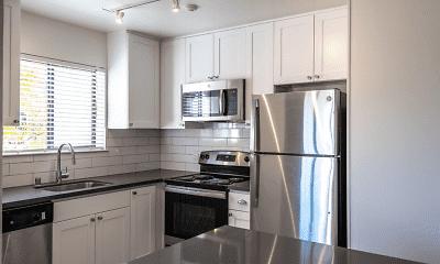 Kitchen, McInnis Park Apartments, 0