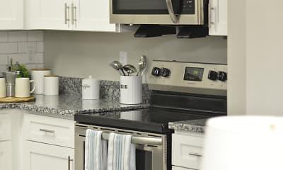 Kitchen, Emery Apartment Homes, 2