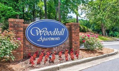 Community Signage, Woodhill Apartments, 0