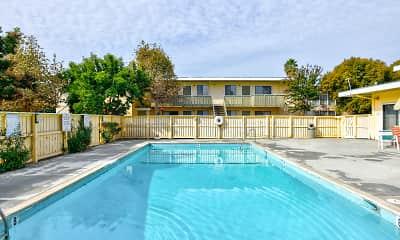 Pool, Arbordale Gardens, 1