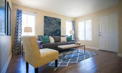 Living Room, Villagio Apartment Homes, 1