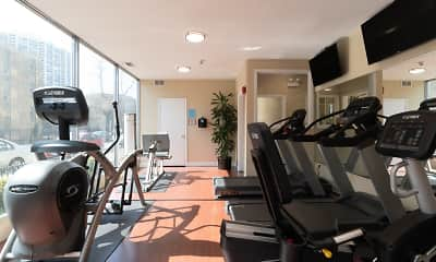 Fitness Weight Room, 4100 N. Marine Dr., 2