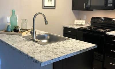 Kitchen, Brickstone Apartments, 0