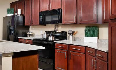 Kitchen, Park Place Apartments in Oviedo, 1