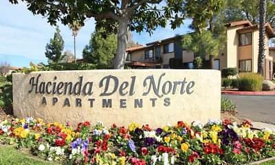 Community Signage, Hacienda Del Norte, 0