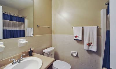 Bathroom, Casa De Luna, 2