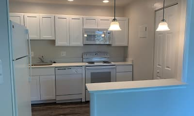 Kitchen, Skyview Apartments, 1