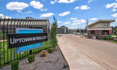 Community Signage, Uptown @ Kelley, 0