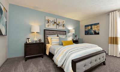 Bedroom, District at Hurstbourne, 1