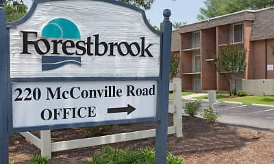 Community Signage, Forestbrook Apartments, 2