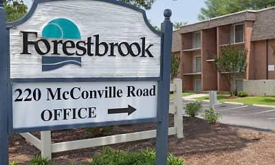 Community Signage, Forestbrook Apartments, 2