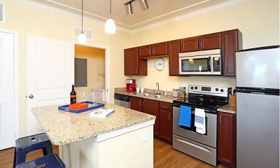 Kitchen, The Lodge at Heritage Lakes, 1