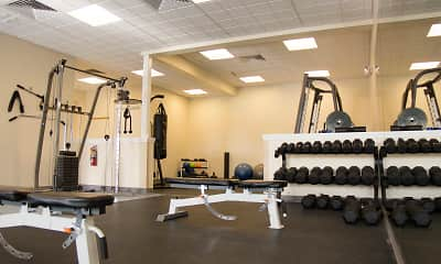 Fitness Weight Room, The Villas At Happy Valley, 2
