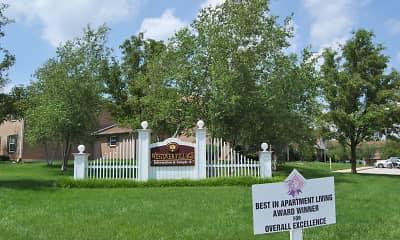 Community Signage, Westover Village Apartments, 1