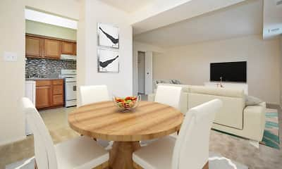 Dining Room, Arbors at Edenbridge Apartment Homes, 1