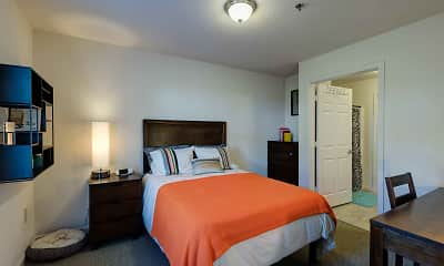 Bedroom, The Grove at Slippery Rock Apartments, 2