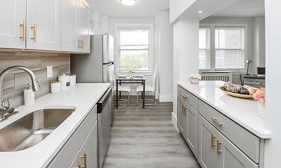 Kitchen, Fairfax Apartments, The, 1