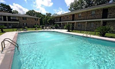 Pool, Park Regency Apartments, 0