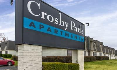 Community Signage, Crosby Park, 1