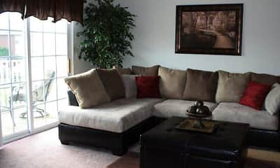 Living Room, Hunters Run, 1