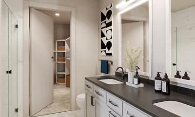Bathroom, The Palmer Parkside, 2