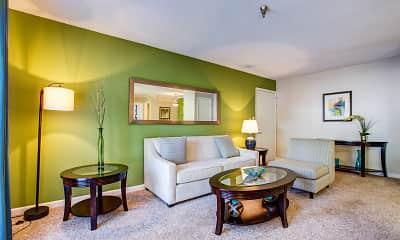 Living Room, Arlington Park at Wildwood, 1
