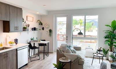Living Room, Arbor Crest on Fourth, 1