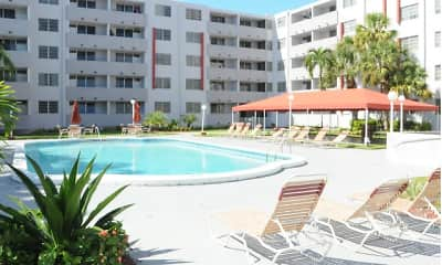 Pool, Suncoast Place Apartments, 0