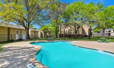 Pool, Spring Valley, 1