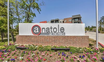 Community Signage, Anatole at The Pines, 2