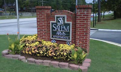 Community Signage, Salem Arms, 2