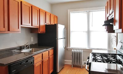 Kitchen, 1151 S. Oak Park Apartments, 0