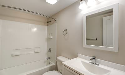 Bathroom, Grandview Apartment Homes, 2