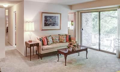 Living Room, Kenwood Park Apartments, 1