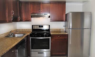 Kitchen, The Apartments at Bonnie Ridge, 1