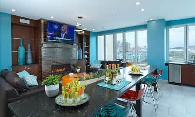 Dining Room, Aqua on the Levee, 2