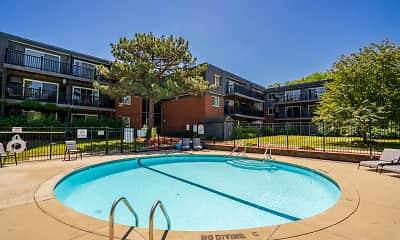 Pool, Aquarius Apartments, 0