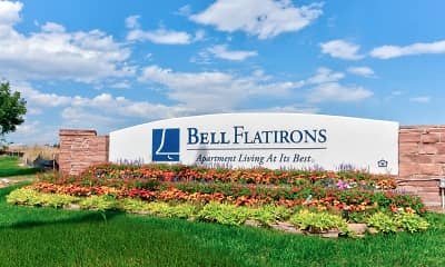 Community Signage, Bell Flatirons, 2